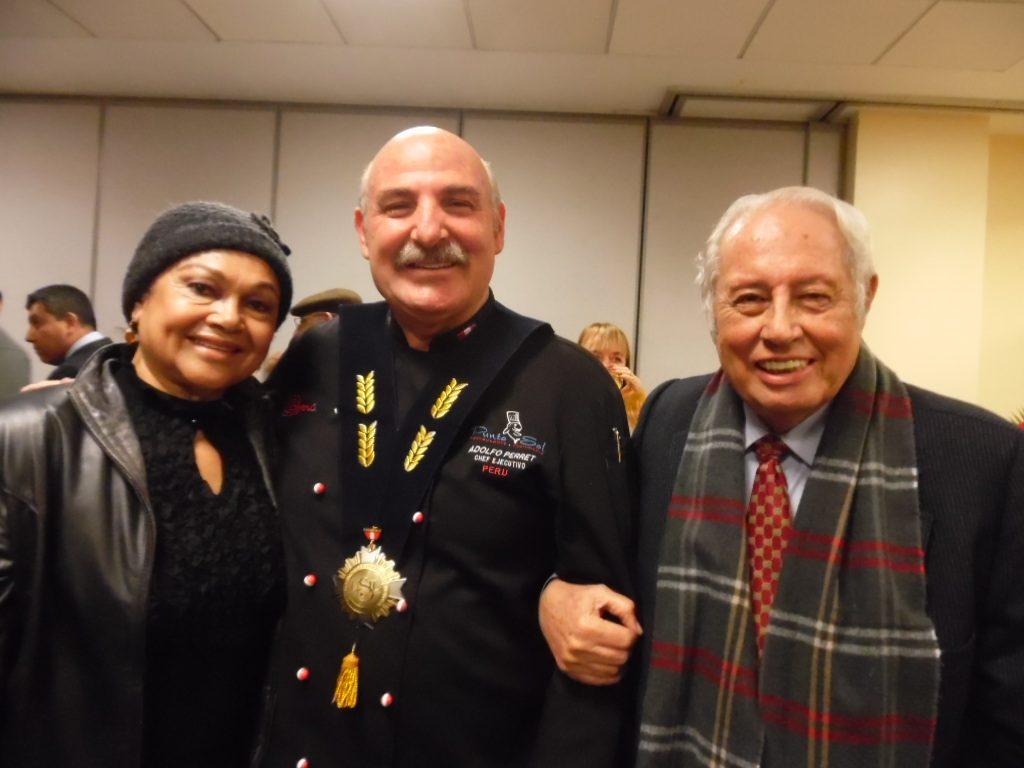 Con Nuestros queridos amigos Adolfo Perret y Carlos López