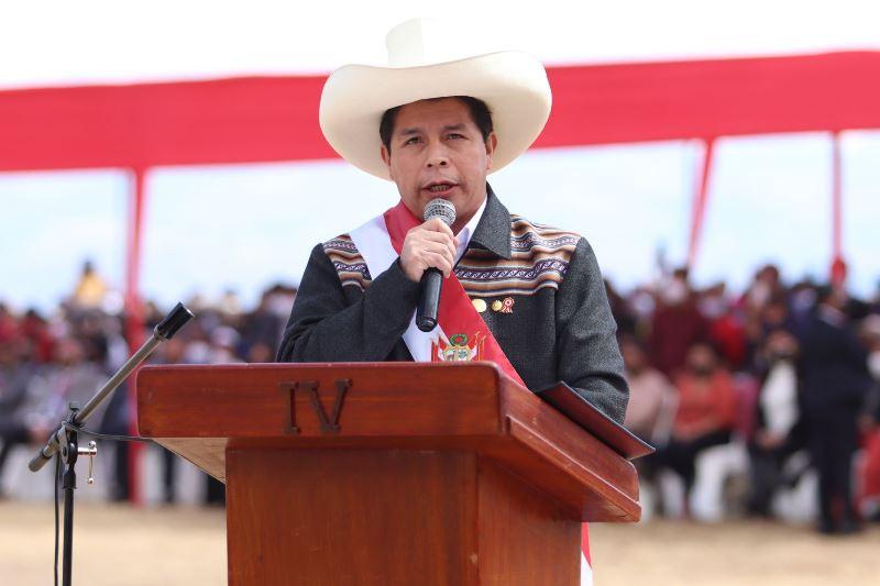 Presidente Pedro Castillo